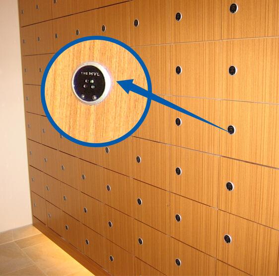 rfid file cabinet lock
