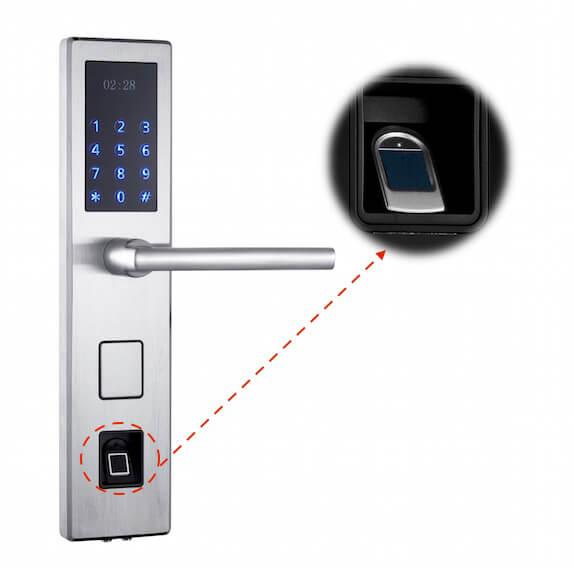 digital door lock fingerprint
