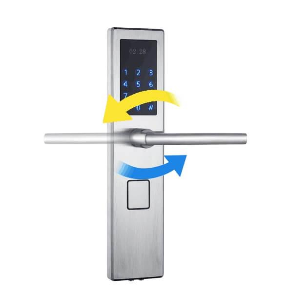 fingerprint front door lock