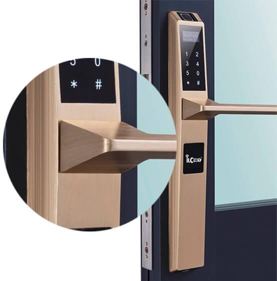 fingerprint lock for UPVC door