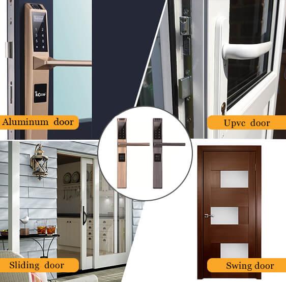 fingerprint door lock for sliding door