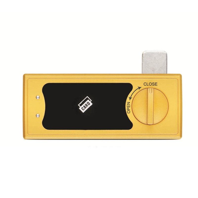 Electronic server cabinet lock