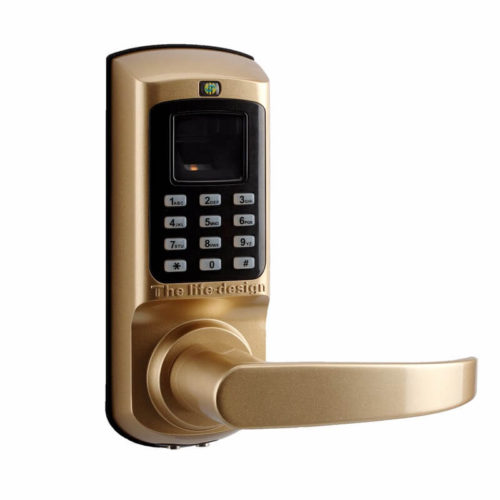 fingerprint door lock for office