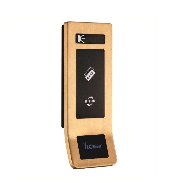 Keyless electronic card door locks