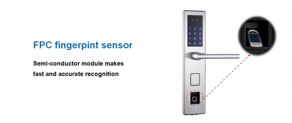 Fingerprint Enabled Door Lock