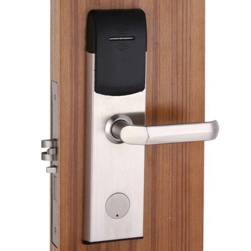 Hotel room security door locks