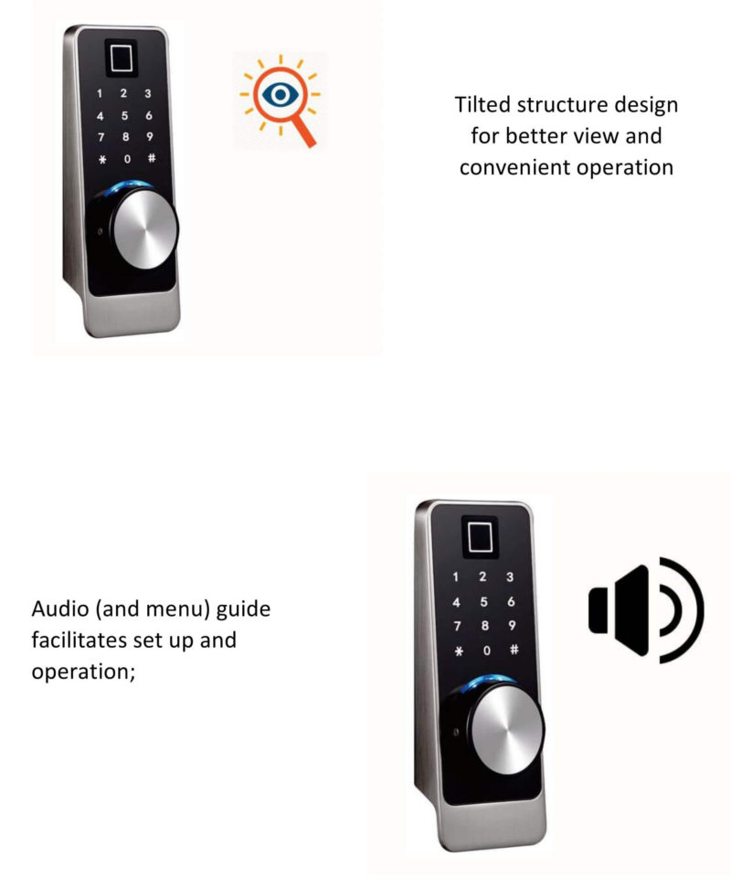 Fingerprint-bluetooth-door-lock
