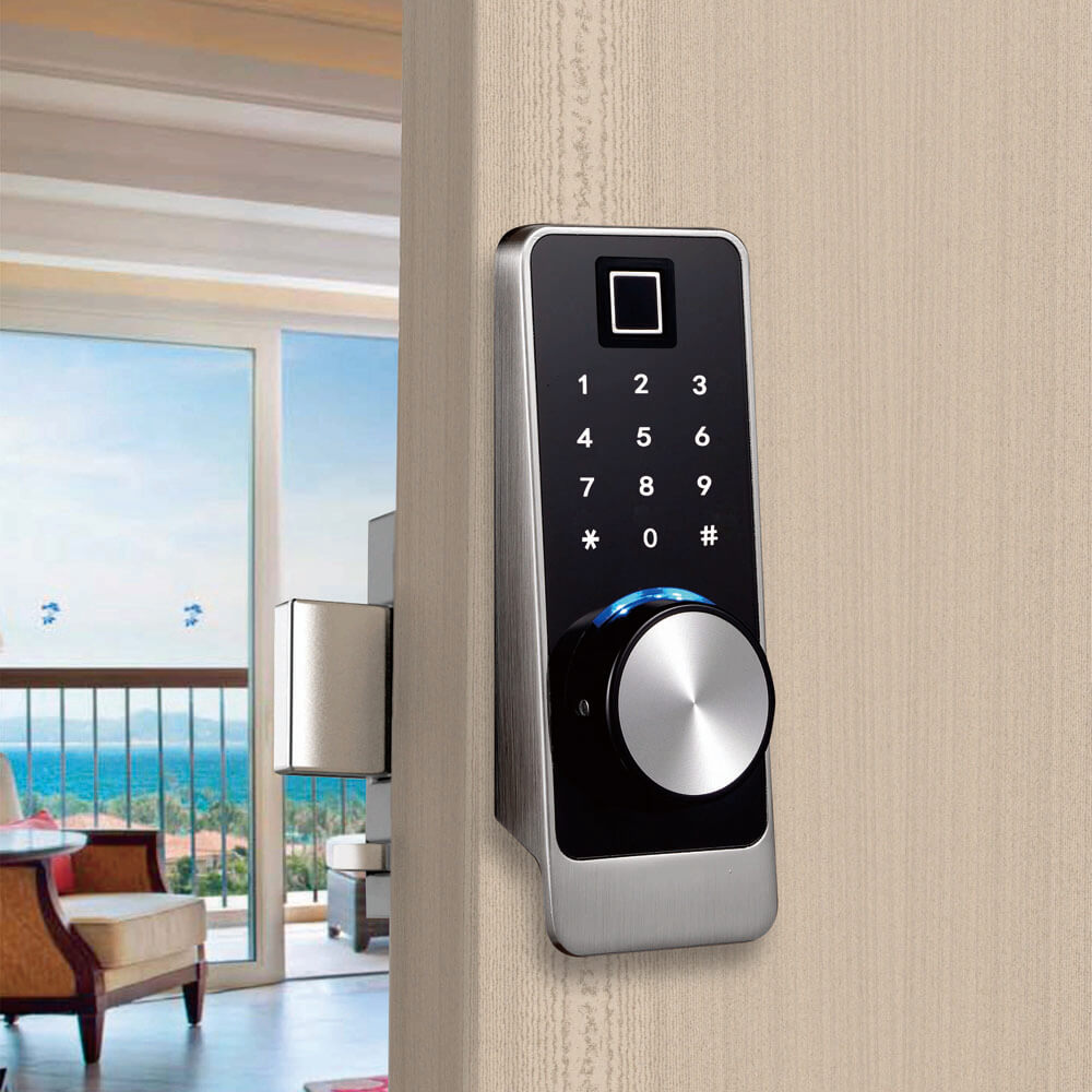 Fingerprint bluetooth door lock