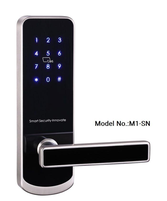 Smartphone door lock