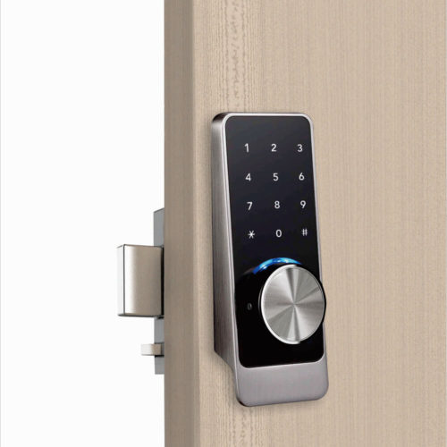 Bluetooth keypad door lock