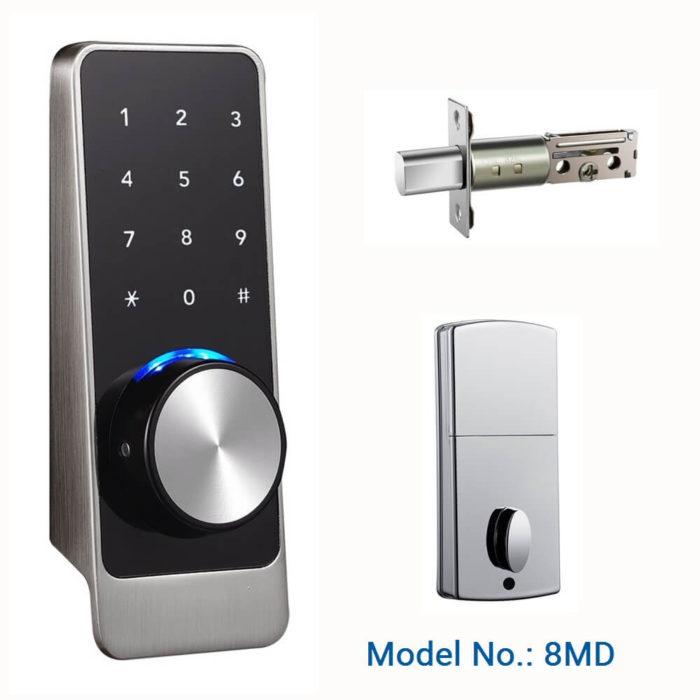 Bluetooth keypad door lock