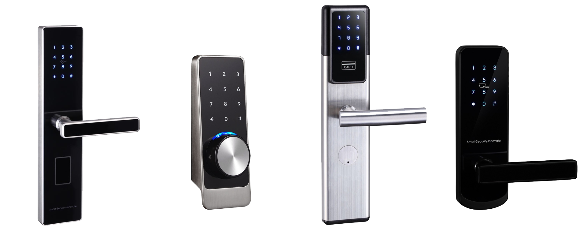 Bluetooth Front Door Lock