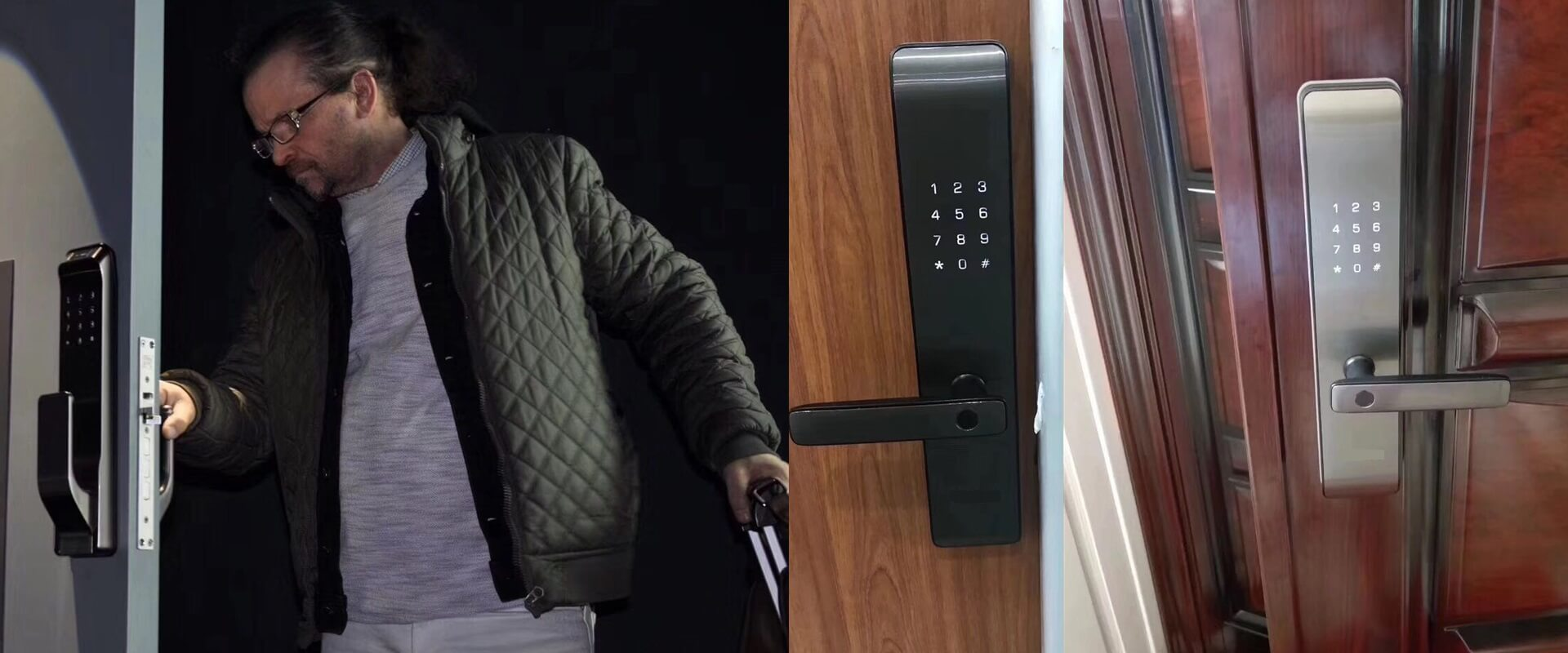 Thumbprint door locks