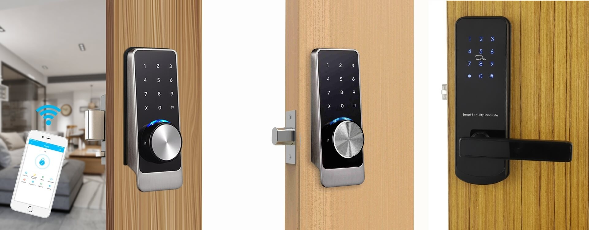 smart bluetooth door lock application