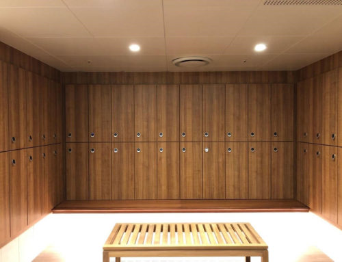 Ilockey Smart Cabinet Lock works well in Fitness Center