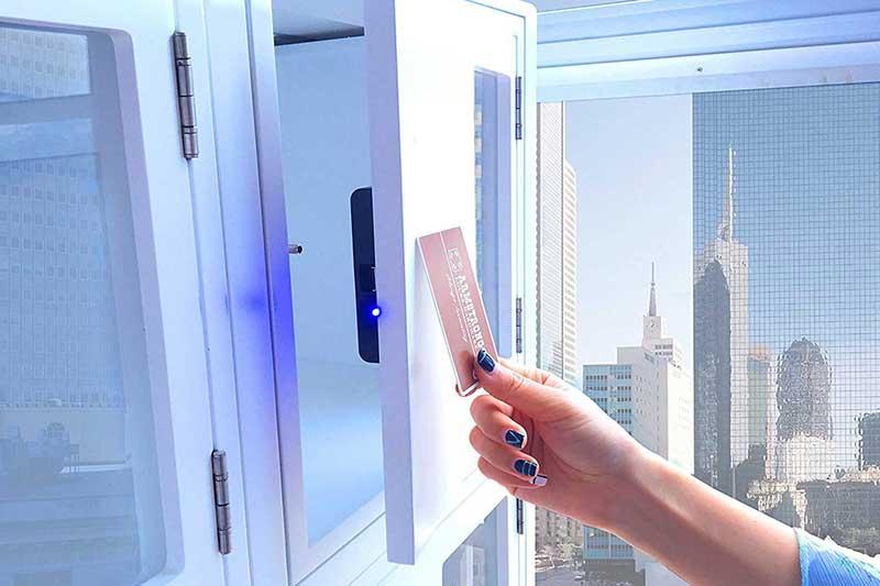 RFID cabinet lock type