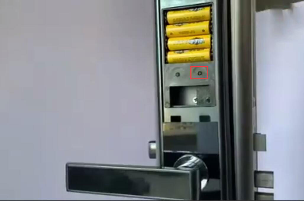 How to reset password for your smart door lock